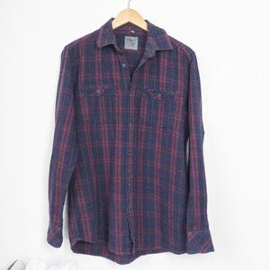 Point Zero Plaid Flannel Shirt